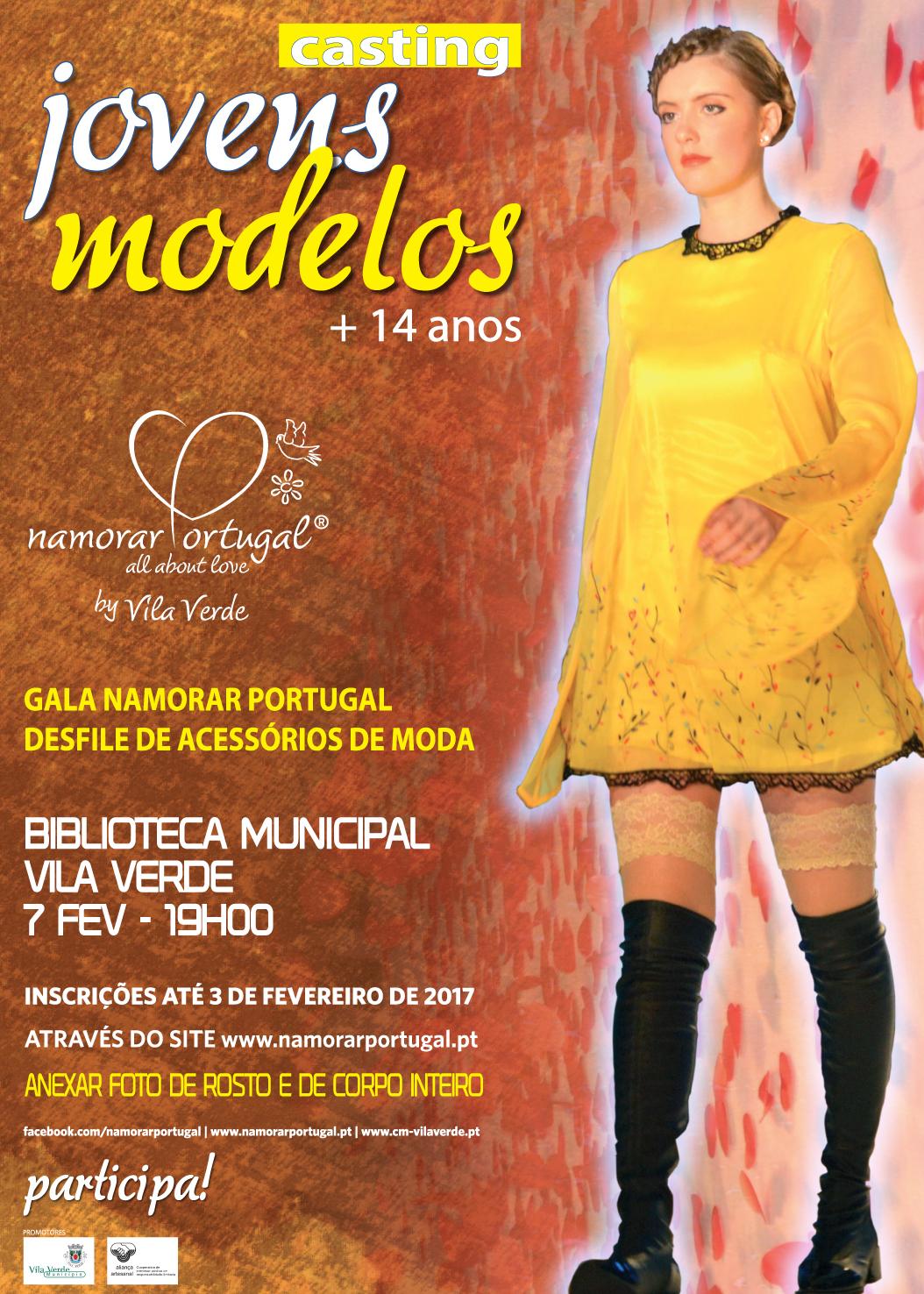cartaz casting jovens modelos 2017
