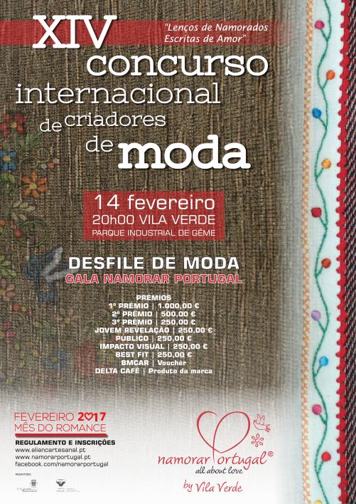 XIV concurso internacional criadores de moda